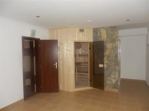 Vchod do sauny