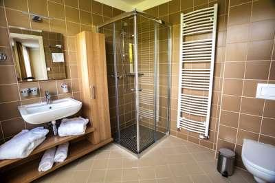 Koupelna v pokoji nebo apartmánu