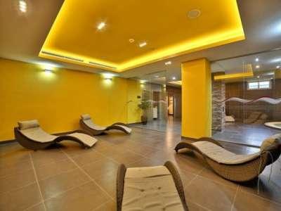Odpočinková místnost ve wellness