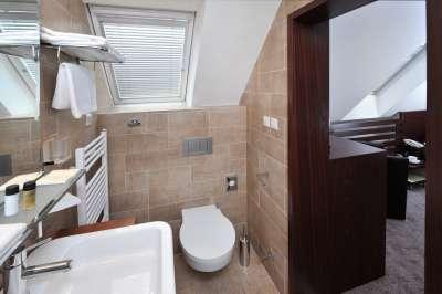 Koupelna - jednolůžkový pokoj