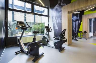 Hotelové fitness centrum