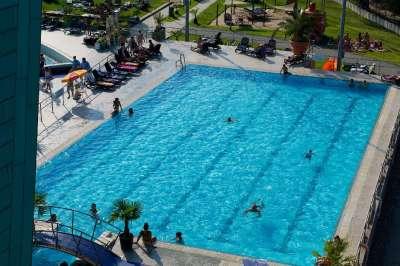 Aquasziget venkovní plavecký bazén