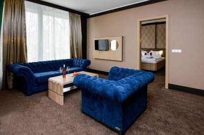 Suite Apartmán Aquaplus - obývací pokoj