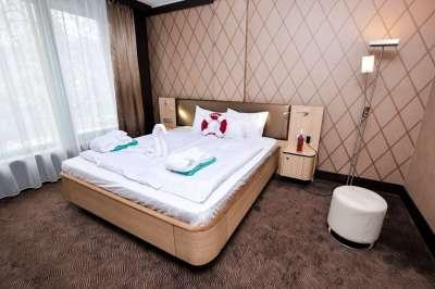 Suite Apartmán Aquaplus - ložnice
