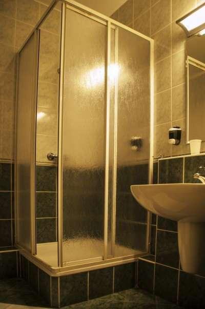 Dvoulůžkový pokoj Komfort - koupelna
