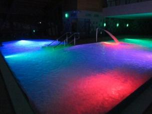 Osvětlení bazénu