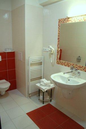 Koupelna v hotelu 3*