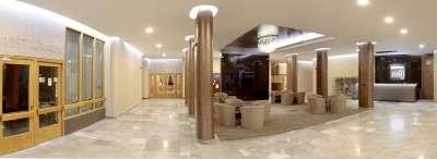 Lobby s recepcí