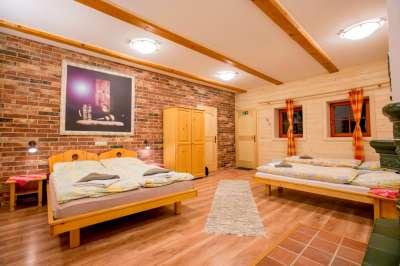 Čtyřlůžkový pokoj