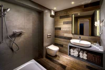 Koupelna v apartmánu A 4+1 Deluxe