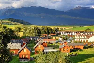 Areál Tatralandia Holiday Village
