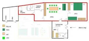 Apartmán A1 mapa