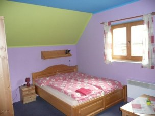 Dvoulůžkový pokoj - fialový