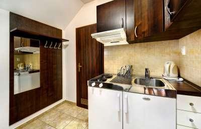 Dvoulůžkový Apartmán - kuchyňský kout