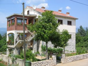 Příklad ubytování vila Gržetić