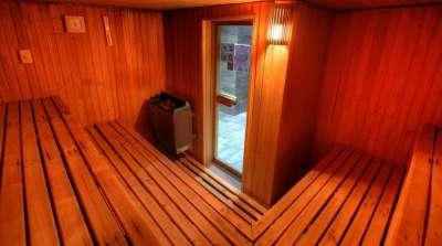 Finská sauna ve wellness