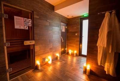 Prostory saun ve wellness