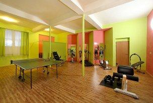 Fitness + ping pongový stůl