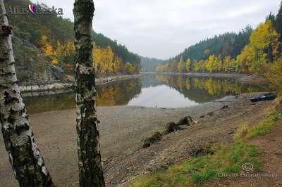 Vodní nádrž Hracholusky foto