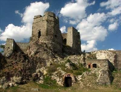 Levický hrad foto