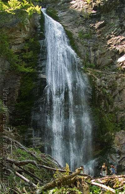 Šútovský vodopád foto