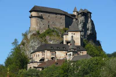 Oravský hrad foto