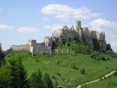 Spišský hrad foto