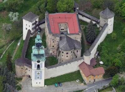 Starý zámek Banská Štiavnica foto