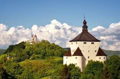 Nový zámek Banská Štiavnica foto