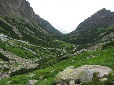 Javorová dolina foto