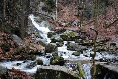 Rešovské vodopády foto