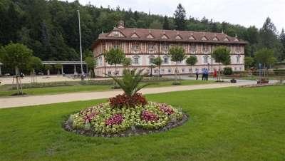 Lázeňský park, Luhačovice foto