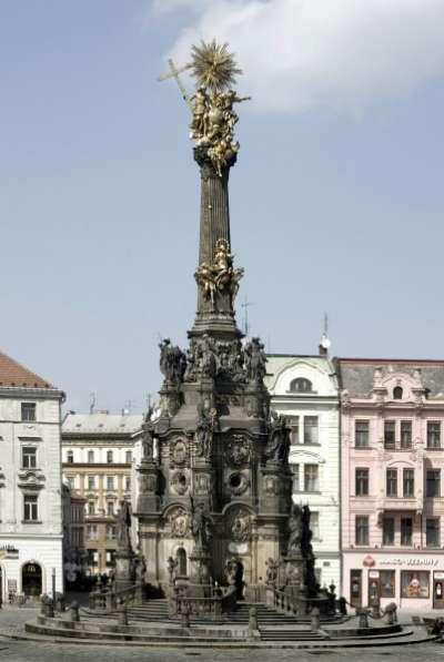 Sloup Nejsvětější Trojice v Olomouci foto