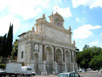 Fontána dell Acqua Paola foto