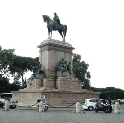 Pomník Giuseppe Garibaldiho foto