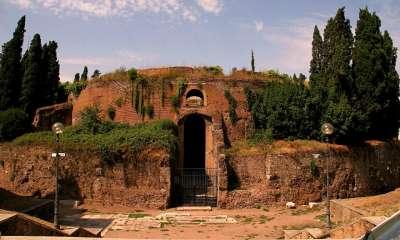 Augustovo mauzoleum foto