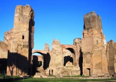 Caracallovy lázně foto