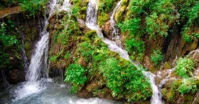 Vodopády Varone foto