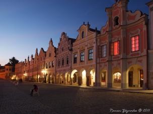 Historické centrum města Telč foto
