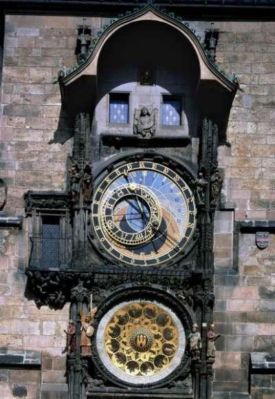 Pražský orloj foto