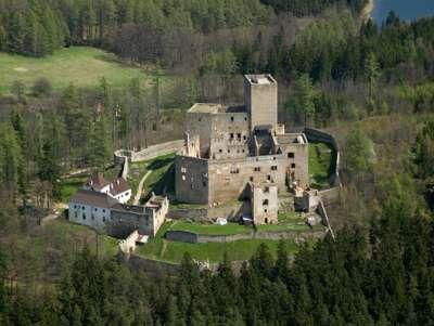Státní hrad Landštejn foto