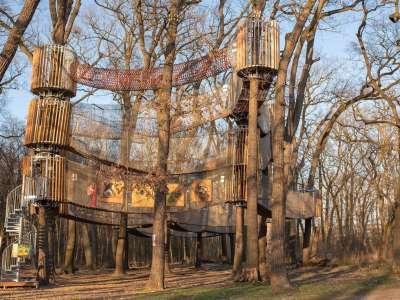 3D lanový park  foto