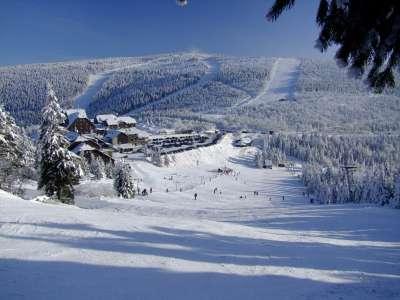 Ski areál Červenohorské Sedlo foto