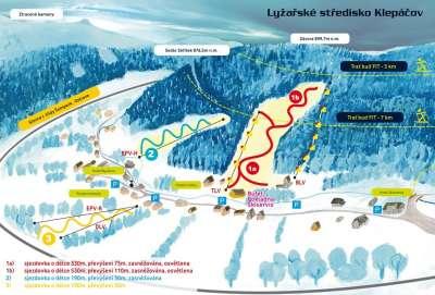 Lyžařské středisko Klepáčov foto