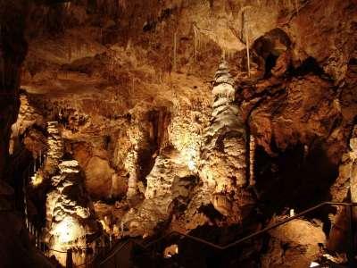 Javoříčské jeskyně foto