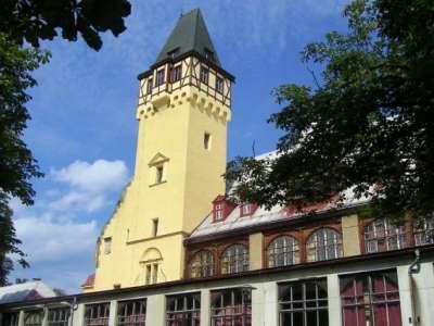 Vyhlídková věž Lidové sady foto
