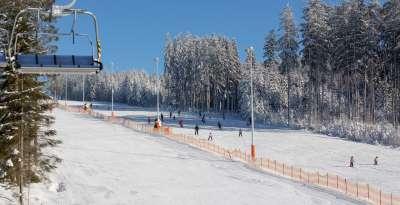 Skiareál Lipno foto