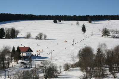 Ski areál Nové Hutě foto