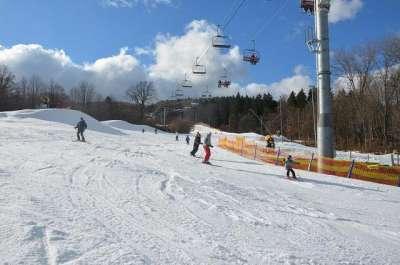 Ski areál Monínec foto