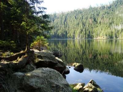 Čertovo jezero foto